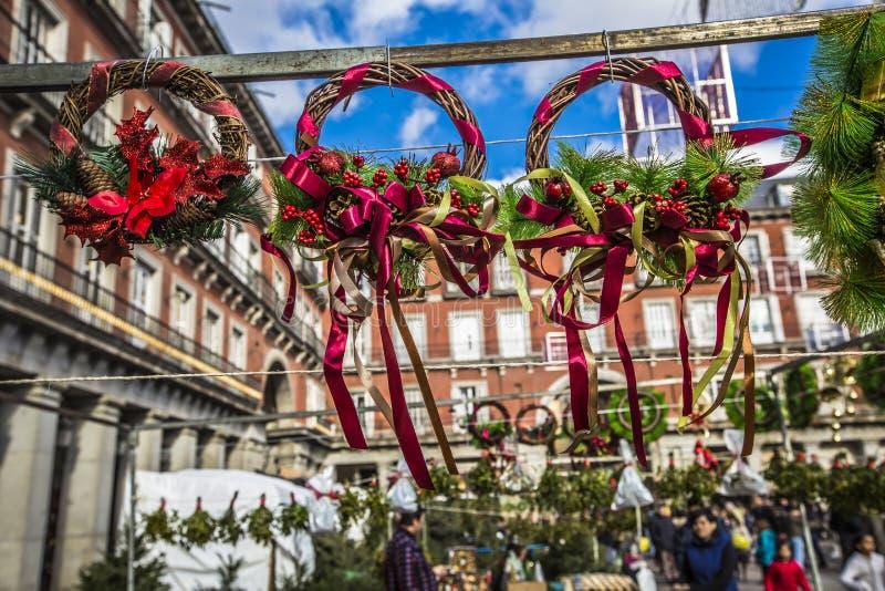 Mercado famoso de la navidad en madrid espa a foto de - Mercado de navidad en madrid ...