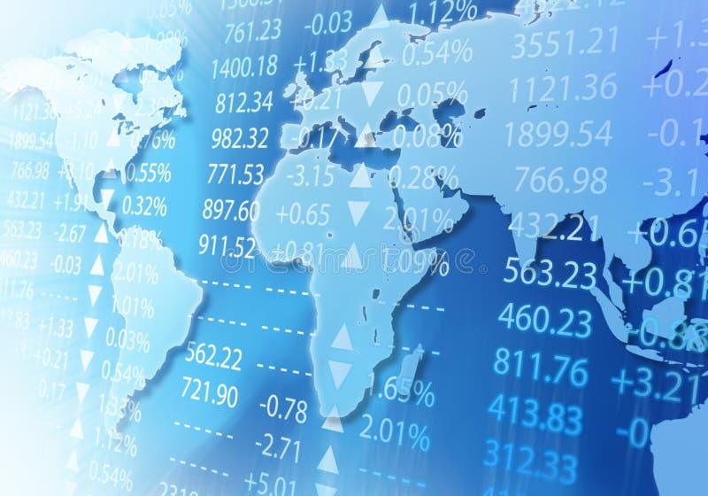 Mercado global ilustração do vetor