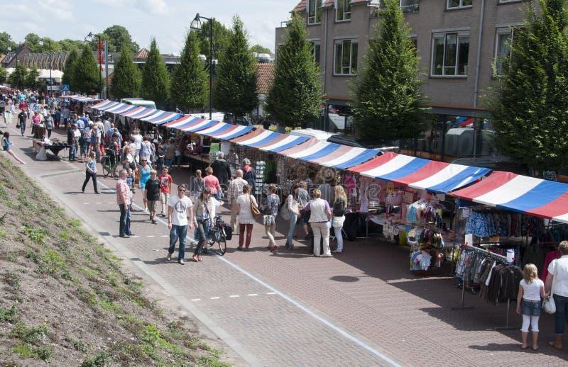 Mercado holandês foto de stock royalty free