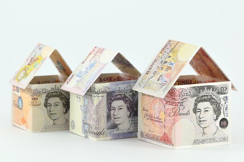 Mercado imobiliário no Reino Unido, um futuro próspero fotos de stock royalty free