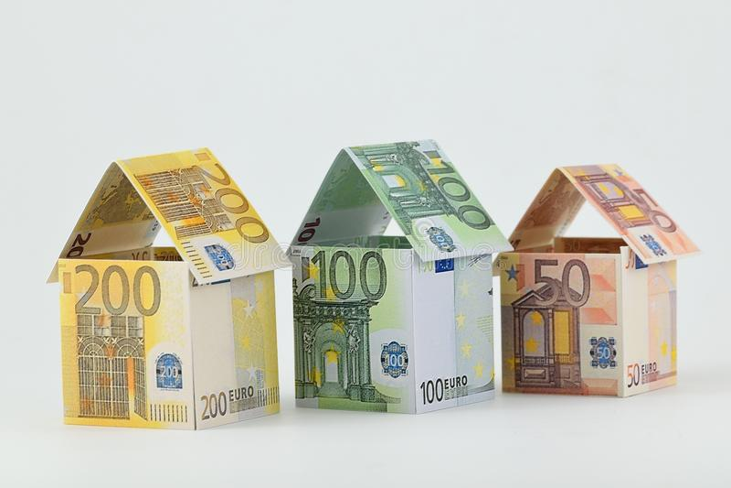 Mercado imobiliário, um futuro próspero fotografia de stock