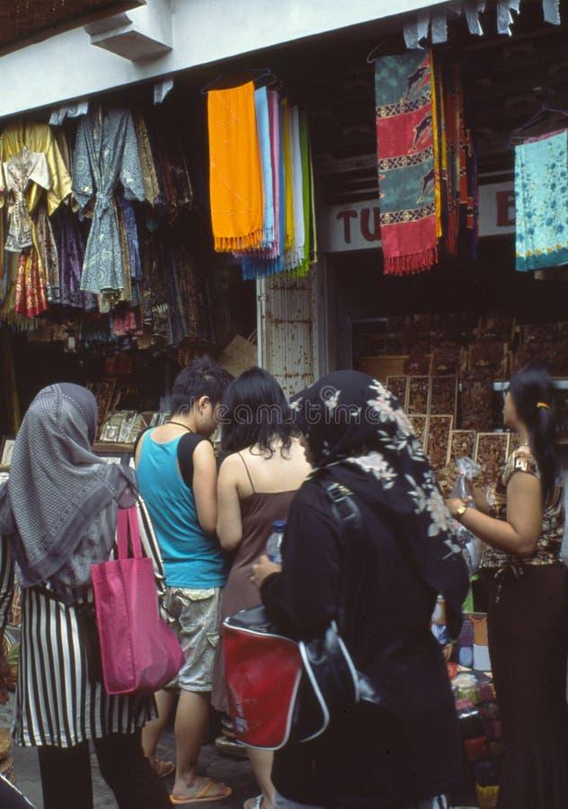 Mercado indonésio foto de stock royalty free