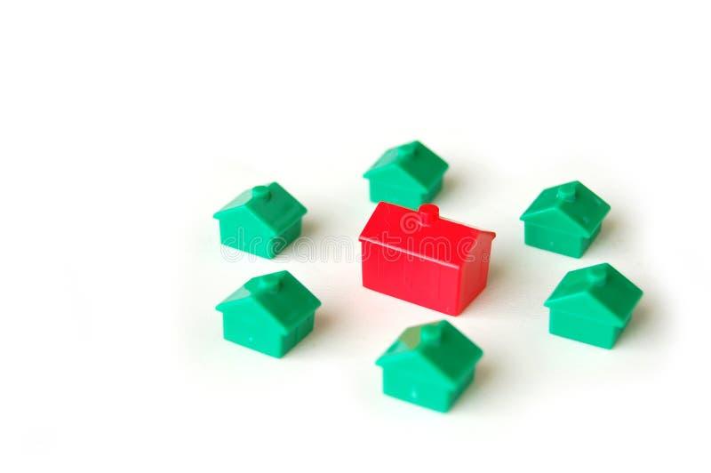 Mercado inmobiliario imagen de archivo
