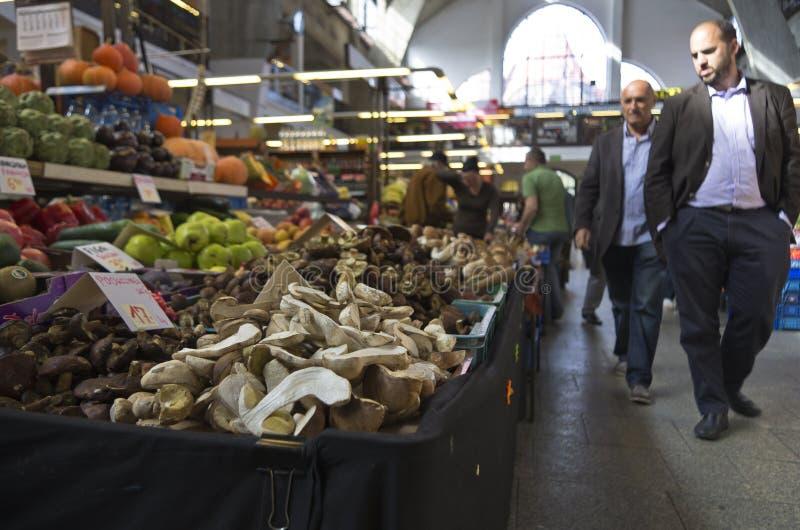 Mercado local fotografía de archivo