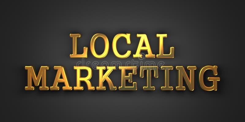 Mercado local. Conceito do negócio. ilustração do vetor