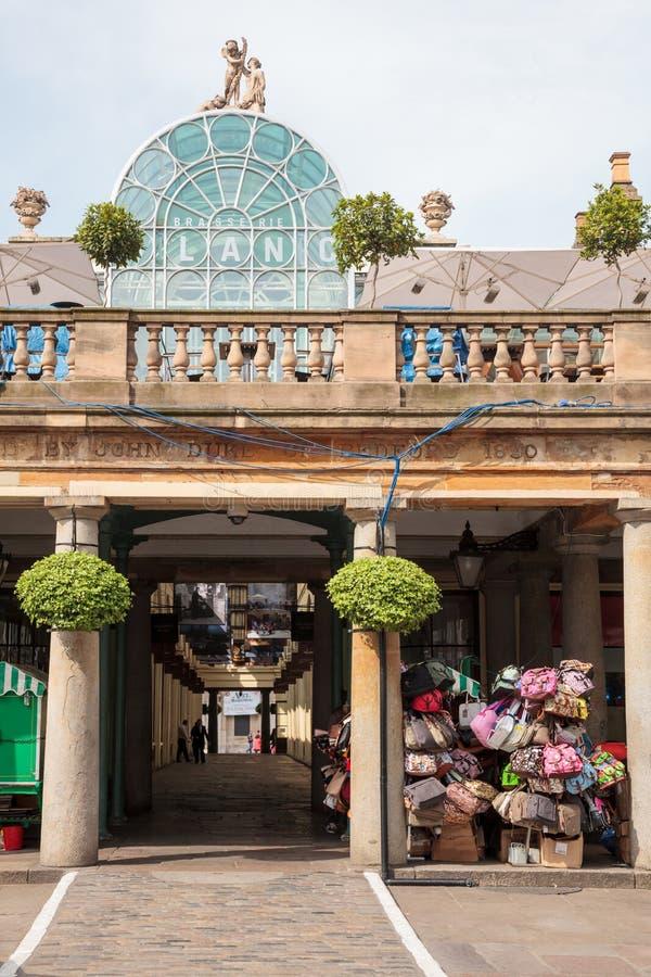 Mercado Londres Reino Unido del jardín de Covent imagen de archivo libre de regalías