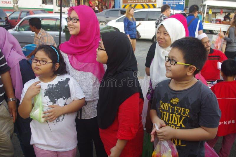 Mercado malaio foto de stock royalty free