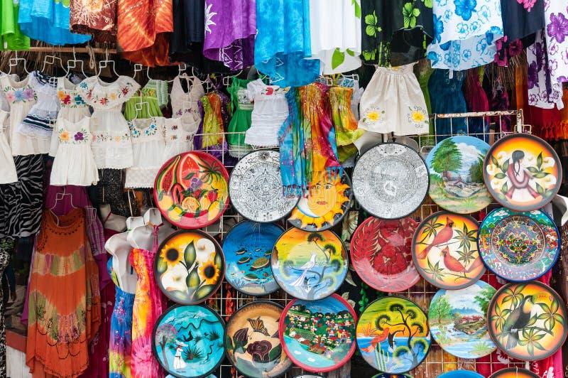 Mercado mexicano imagen de archivo