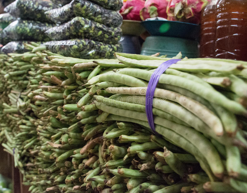 Mercado mexicano com Vegtables fresco foto de stock royalty free