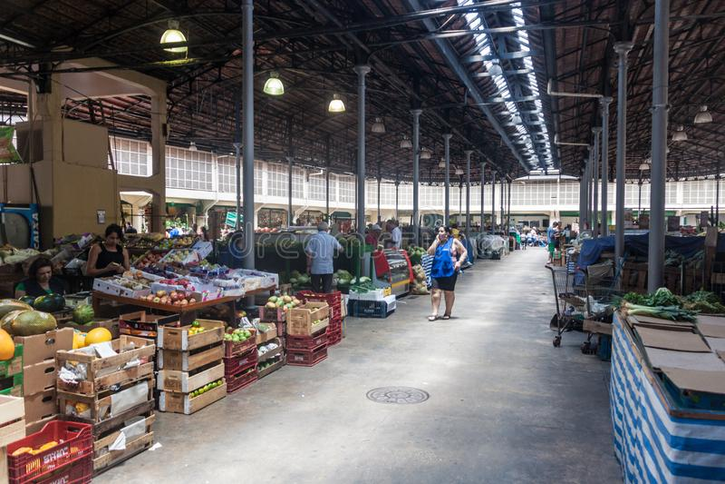 Mercado municipal de Mercado em Sao Paulo foto de stock royalty free