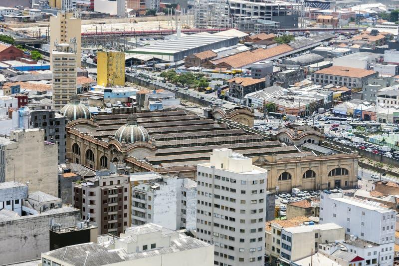 Mercado Municipal de Sao Paulo, SP Brasil fotografía de archivo libre de regalías