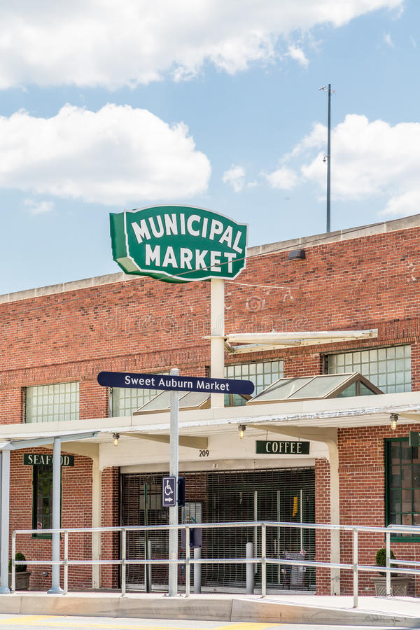 Mercado municipal velho foto de stock royalty free