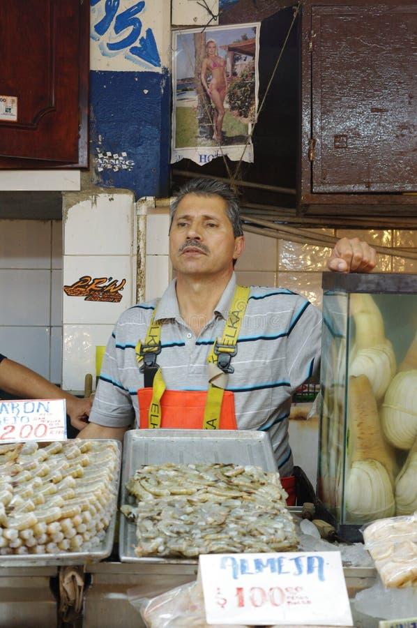 Mercado murzyn w Ensenada, Meksyk fotografia stock