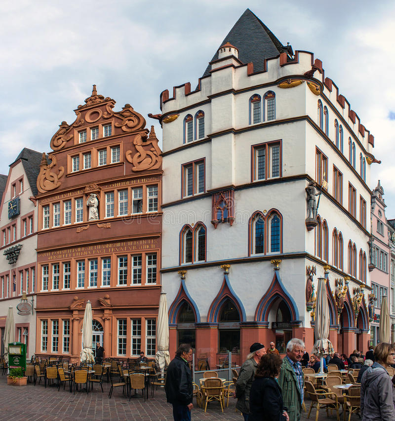Mercado no Trier imagens de stock royalty free