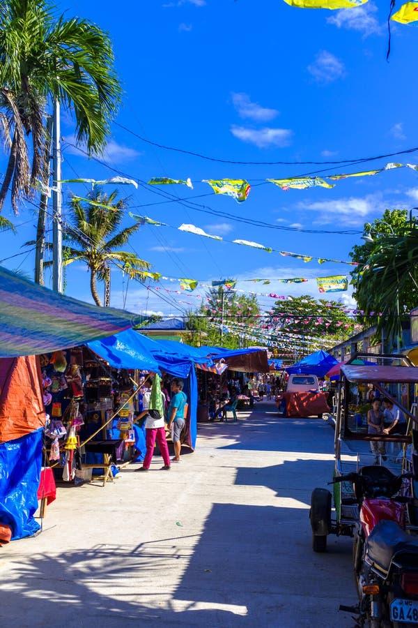 Mercado público em Bantayan imagem de stock royalty free