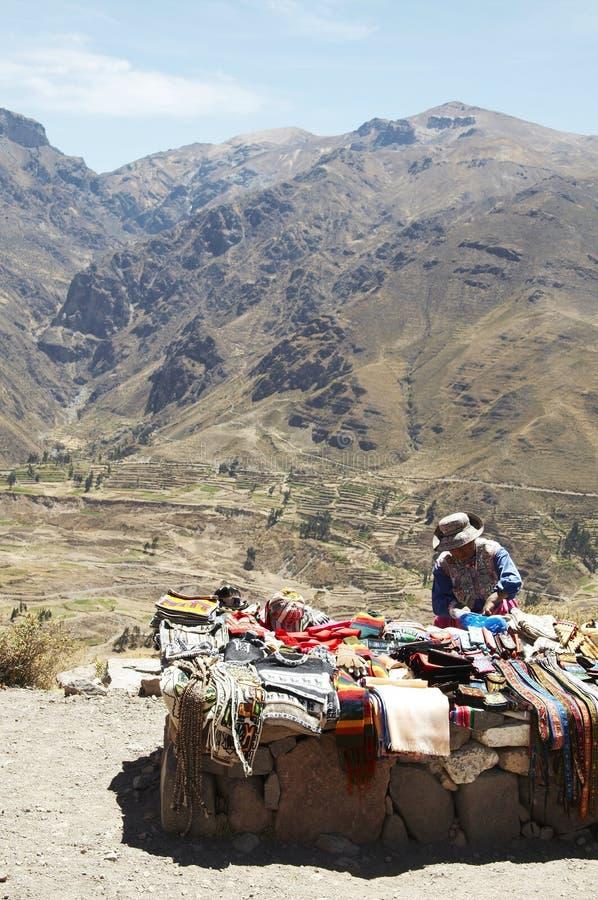 Mercado peruano fotografia de stock royalty free