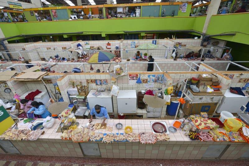Mercado, Puno, Peru imagem de stock royalty free
