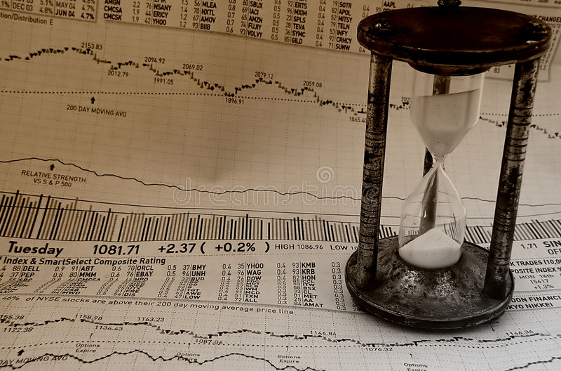Mercado Que Cronometra 3 Fotos de Stock