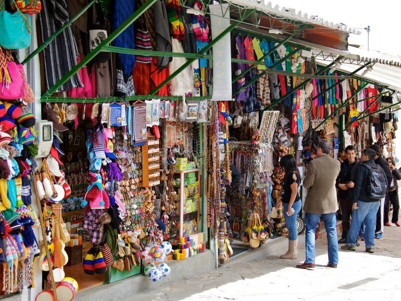 Mercado sobre Monserrate fotografia de stock royalty free
