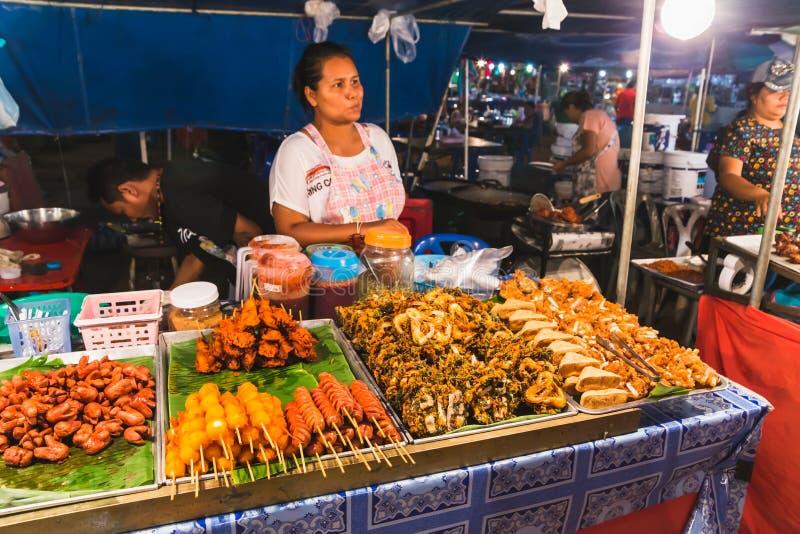Mercado tailandés fotos de archivo