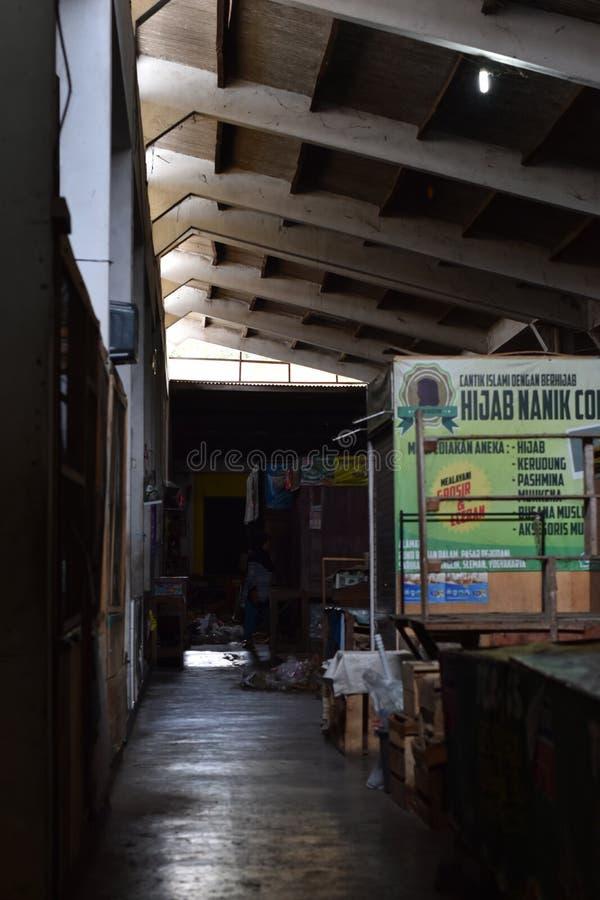 Mercado tradicional de Sleman, Yogyakarta fotos de stock royalty free