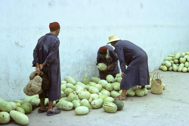 Mercado tunecino fotografía de archivo