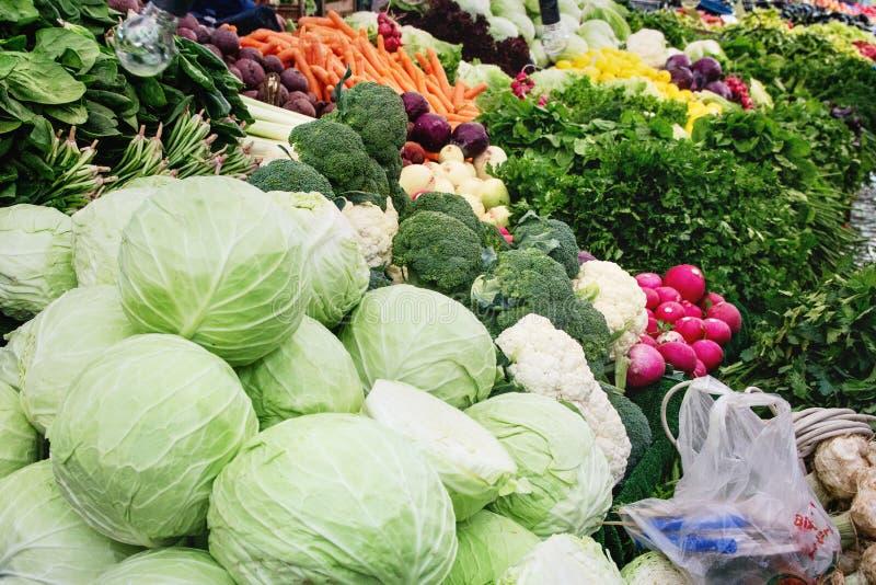 Mercado turco do fazendeiro imagens de stock