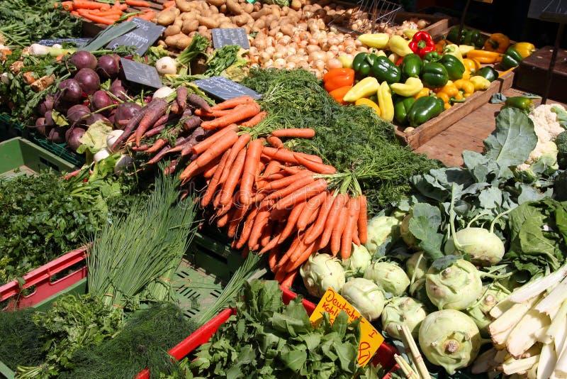Mercado vegetal imagens de stock royalty free