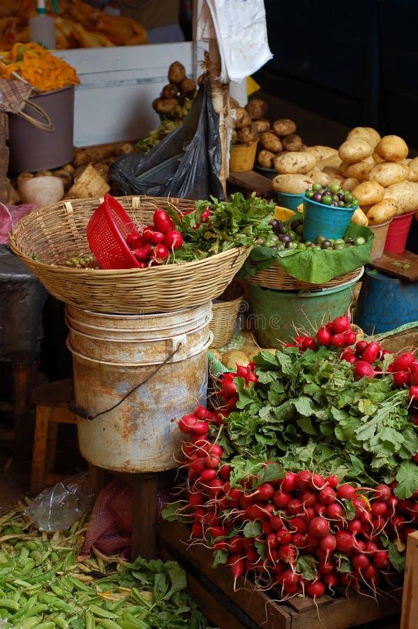 Mercado vegetal fotografía de archivo libre de regalías