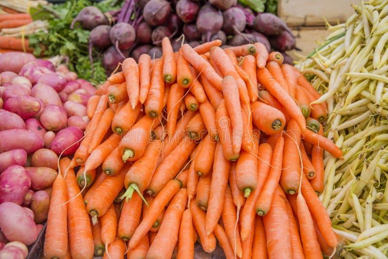 Mercado vegetal fotos de archivo