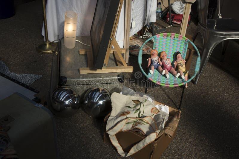 Mercado velho coberto de Spitalfields em aldeolas da torre fotos de stock royalty free