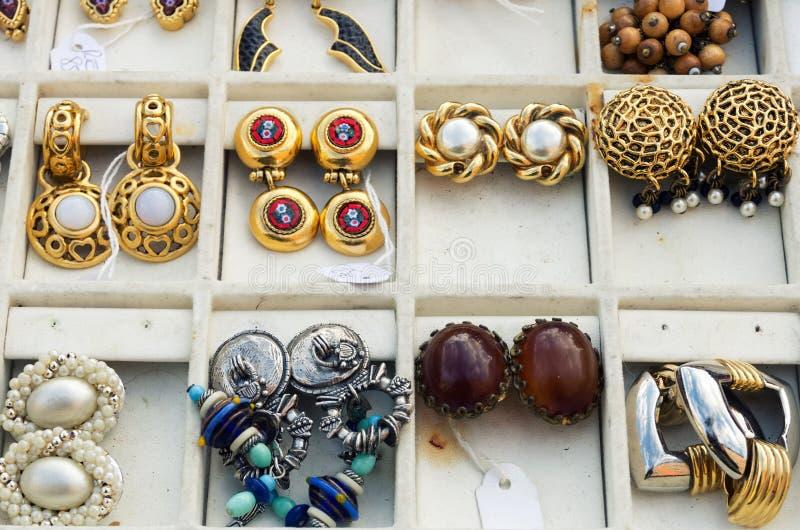 Mercado velho em agradável, France imagens de stock