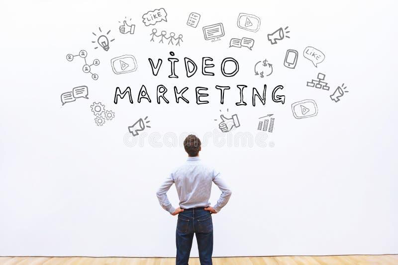 Mercado video fotografia de stock royalty free