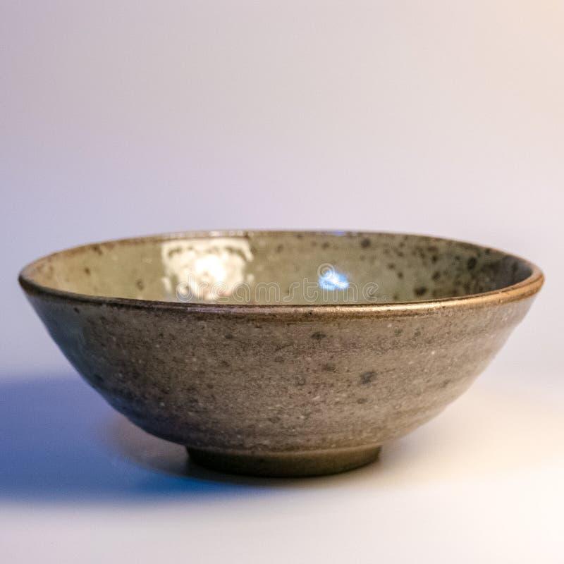 Mercadoria feito a mão japonesa da cerâmica de Tokoname fotos de stock