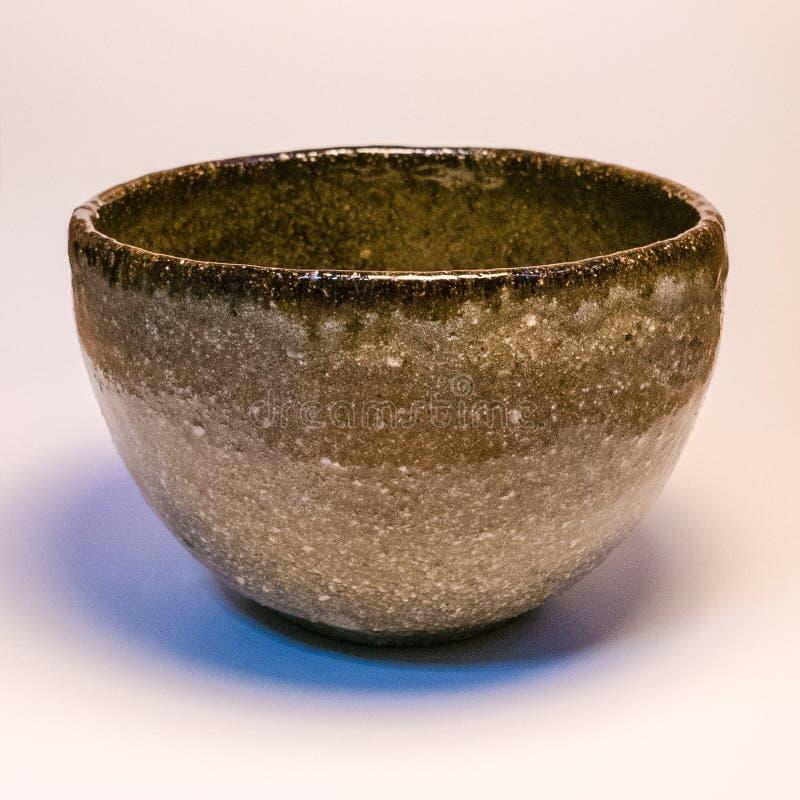 Mercadoria feito a mão japonesa da cerâmica de Tokoname imagens de stock royalty free
