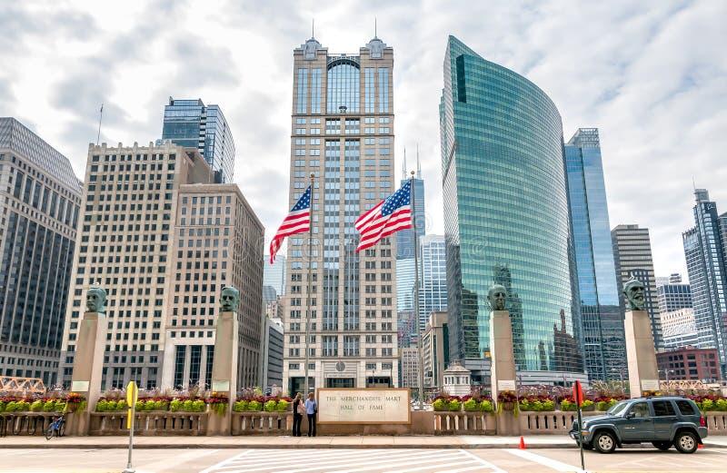 A mercadoria Mart Hall da fama em Chicago fotografia de stock royalty free