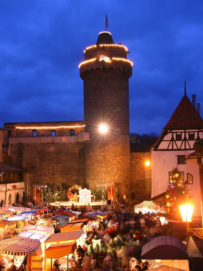 Mercados de la Navidad fotos de archivo