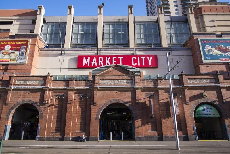 Mercados de Paddys em Sydney, Austrália fotos de stock royalty free