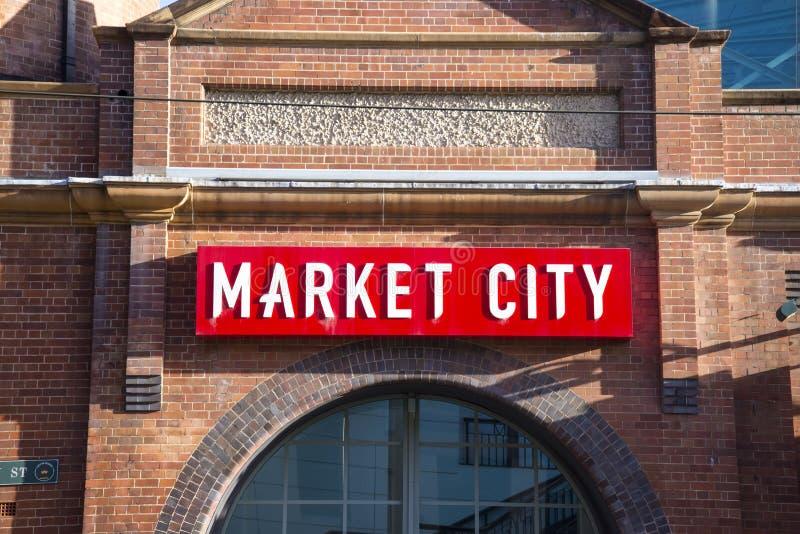 Mercados de Paddys en Sydney, Australia imagenes de archivo
