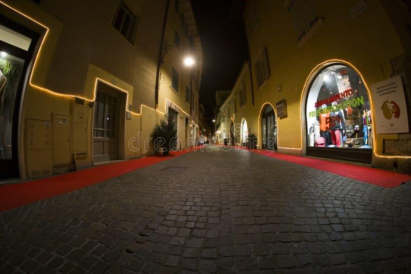 Mercados navideños y decoraciones en el país de Tenno imágenes de archivo libres de regalías