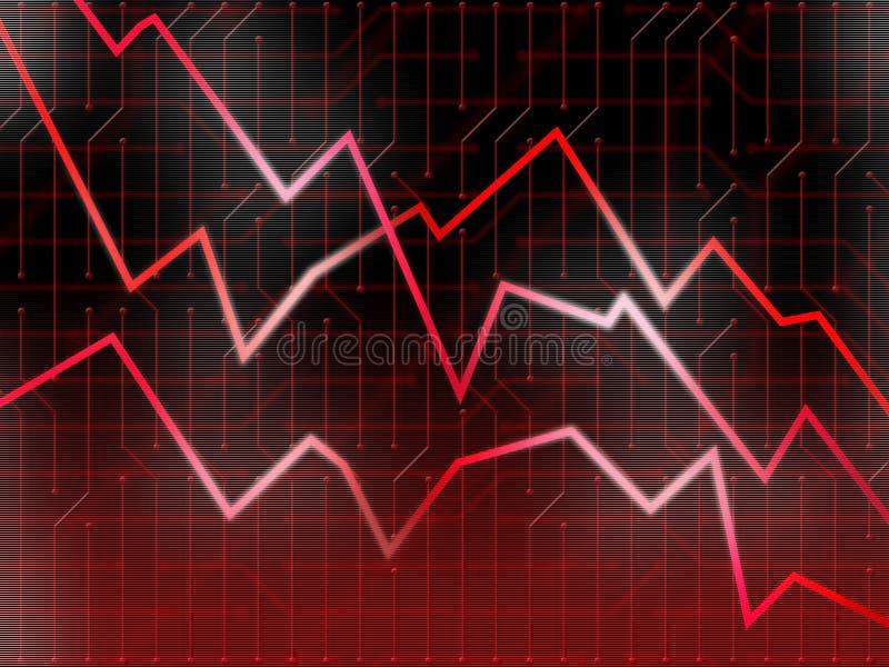 Mercados rojos de la tecnología libre illustration