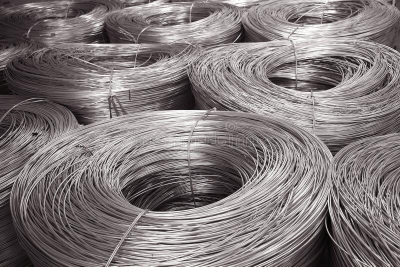 Mercancías de aluminio foto de archivo