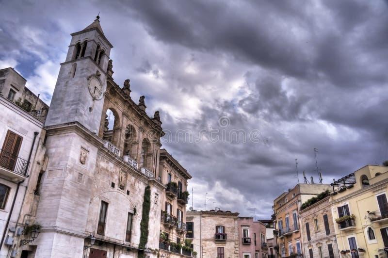 Mercantile Square. Bari. Apulia. royalty free stock images