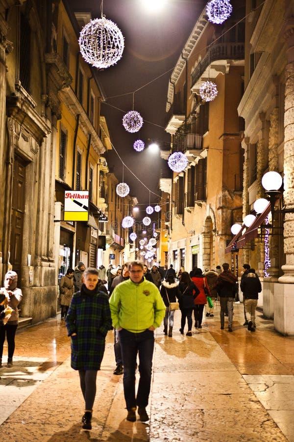 Mercati di Natale a Verona 2015 fotografia stock