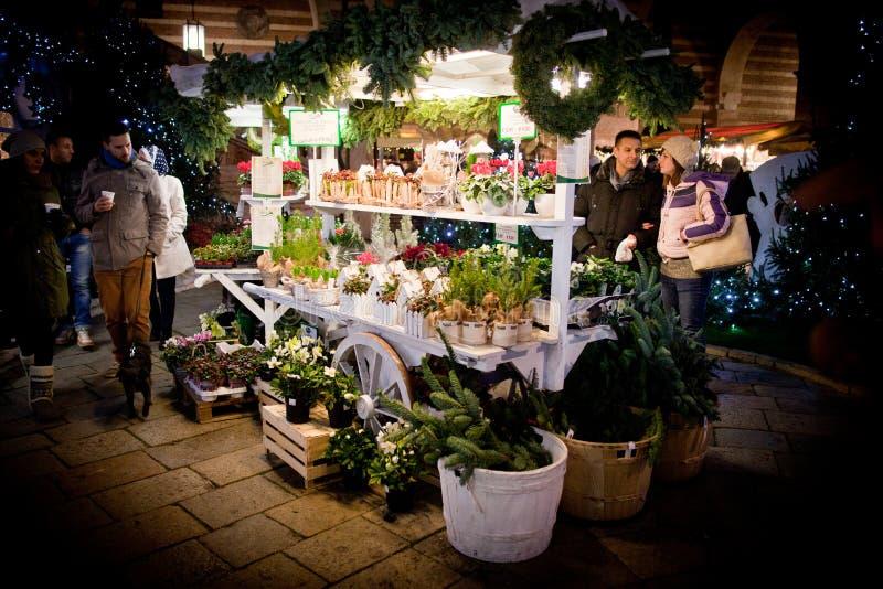 Mercatini di Natale Verona 2015 fotografia stock