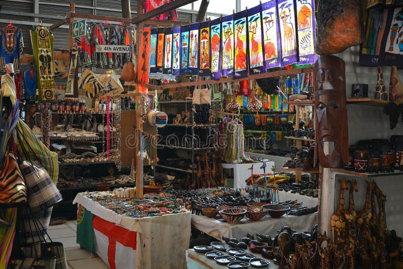Mercato africano della curiosità immagini stock libere da diritti