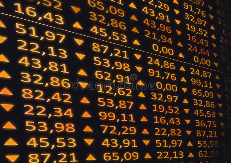 Mercato azionario illustrazione vettoriale