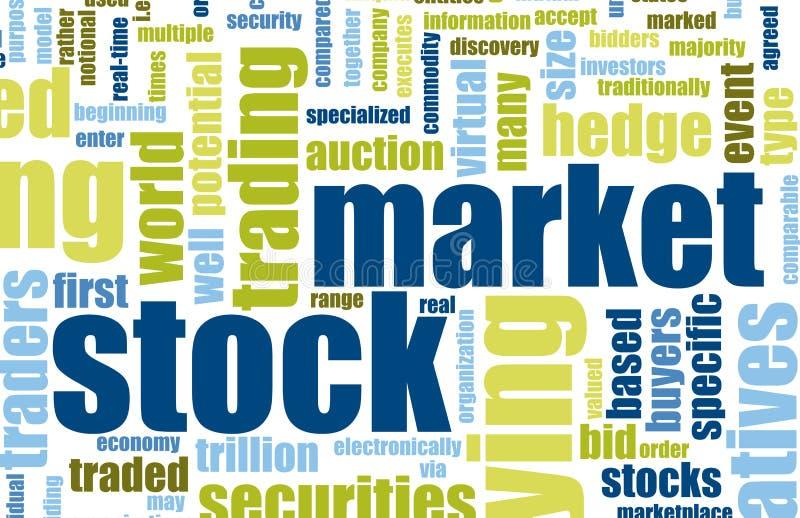 Mercato azionario royalty illustrazione gratis