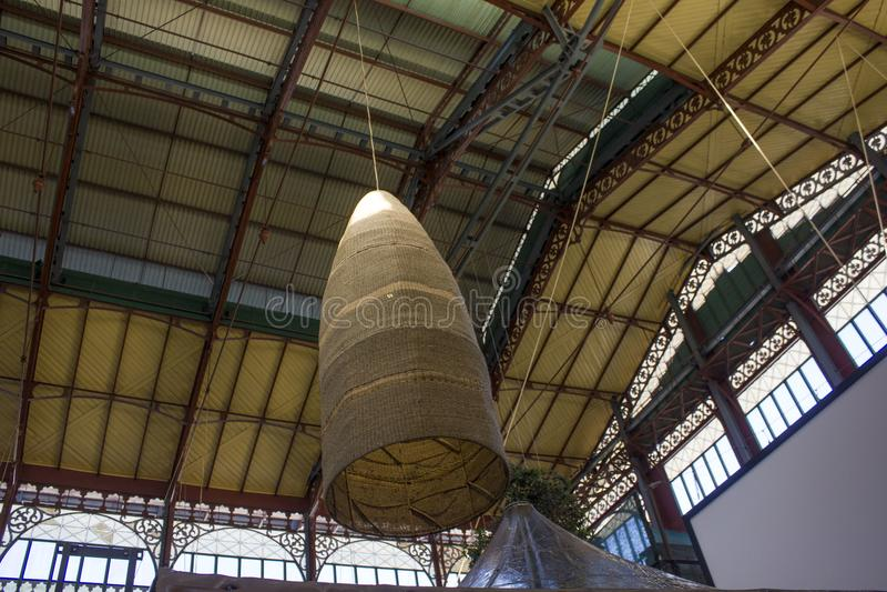 Mercato Centrale in Florence stock foto's