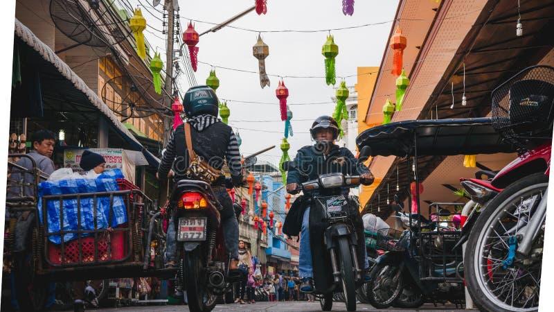 Mercato cinese Warorot fotografia stock libera da diritti